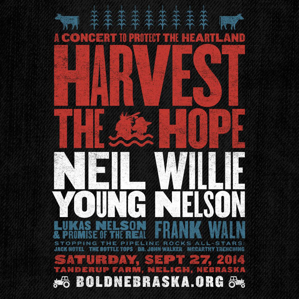 'HARVEST THE HOPE' Concert | Willie Nelson, Neil Young, The Bottle Tops, Jack Hotel, and more…